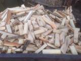 Firelogs - Pellets - Chips - Dust – Edgings - Oak (European) in Russia Firewood/Woodlogs Cleaved 5 cm