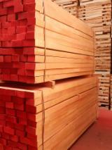 Unedged Hardwood Timber - Beech Half-Edged Boards Tunisia
