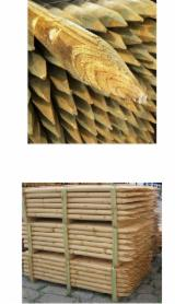 Softwood Logs for sale. Wholesale Softwood Logs exporters - Mongolian Scotch Pine (Pinus Sylvestris), 4/12 cm, A, Cylindrical trimmed round wood