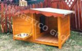 Produse Si Decoratiuni Gradina Din Lemn En Gros - Cusca pentru caini, Model Maxx Plus