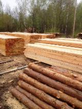 Softwood  Sawn Timber - Lumber Pine Pinus Sylvestris - Redwood - Freshly sawn Pine boards, 1,2,3 grade for export