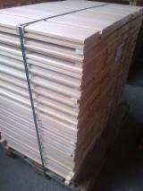Großhandel Holz Laubholz Europa, Nordamerika - Buche gedämpft gehobelt mit Nut und Feder, 4 Seiten fehlerfrei, KD, Deckmaß 40x139mm