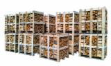 Firelogs - Pellets - Chips - Dust – Edgings - FIREWOOD HARDWOOD BOXES 1 RM- 1,8 RM HORNBEAM, ALDER, OAK
