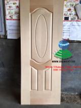 HDF - Beech veneered hdf door skin, beech veneered mdf door skin