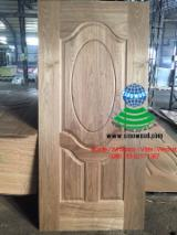 Engineered Panels - Black veneered hdf door skin, black veneered mdf door skin
