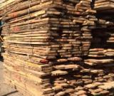 Hardwood  Unedged Timber - Flitches - Boules - Oak (Turkey Oak, Mosscup Oak, Quercus Cerris) Boules in Romania