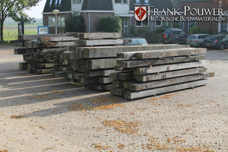 Ekki azobe lumber beams for 6 metre decking boards
