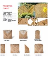 Garden Products - Mongolian Scotch Pine Fences - Screens in Italy