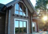 Wood Houses - Precut Timber Framing Pine Pinus Sylvestris - Redwood For Sale - Wooden houses Gašperić
