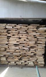 Laubholz  Blockware, Unbesäumtes Holz - Einseitig besäumte Bretter, Ulme (Rüster)