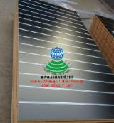 MDF slot board with aluminium bar for supermarkets
