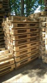 Pallets – Packaging - Recycled - Used in good state , ISPM 15, Euro Pallet - Epal
