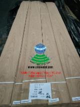 Sliced Veneer - White Oak Flat Cut, Plain Natural Veneer China
