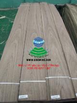Sliced Veneer - Hickory Flat Cut, Plain Natural Veneer China