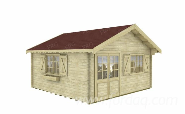 Garden houses, softwoods, Model FRG 505040
