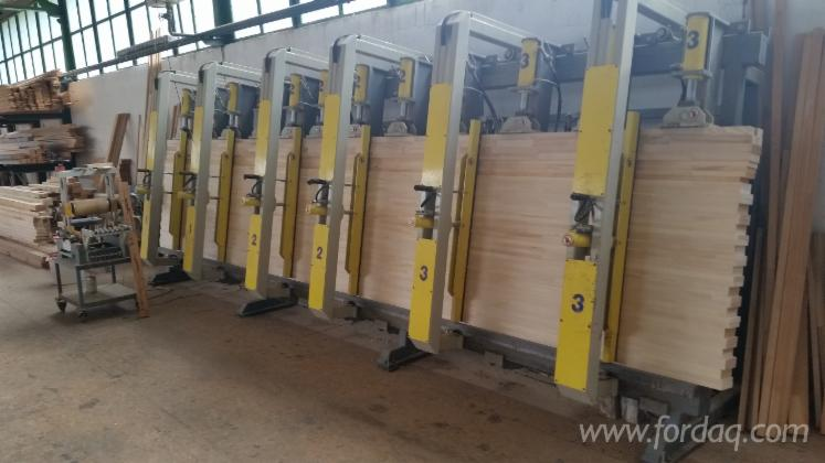 Used-Trimwex-2003-Laminated-Wood-Press-For-Sale-in