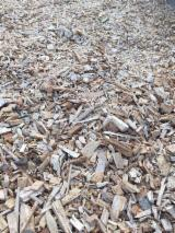 Firewood, Pellets And Residues - Beech Wood Chips From Used Wood 5 mm