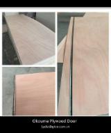 3X7 okoume plywood door skin /2.7mm okoume door skin /plywood door skin