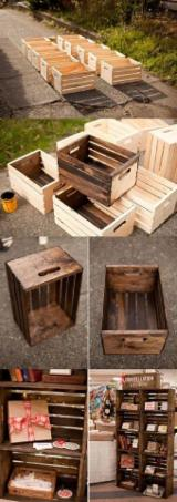 Lithuania Children's Room - Wooden box for sale