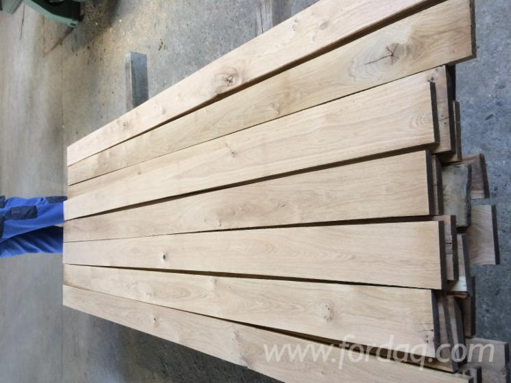 Oak lumber both sides edged b grade rustic kiln dried