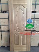 Engineered Panels for sale. Wholesale Engineered Panels exporters - Teak veneered HDF door skin