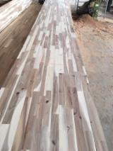 Solid Wood Panels - Acacia wood finger joint board, wood finger joint