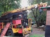 Forest & Harvesting Equipment - Used Koller 2000 Mobile Cable Crane in Italy