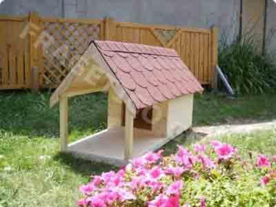 Spruce----Whitewood-Dog-House-from