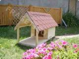 Furniture And Garden Products - Spruce  Dog House from Romania