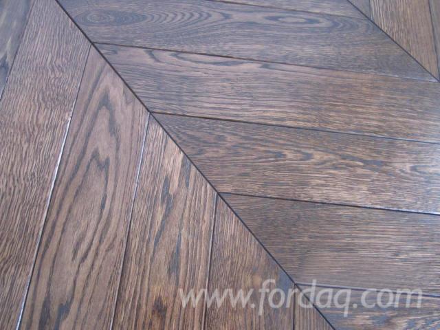 Oak Parquet, FSC, On Edge, 21 x 97 mm