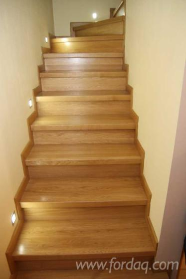 Oak / Ash Stair Treads from Poland
