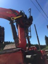 Romania Forest & Harvesting Equipment - Used Mercedes-benz, Actros, 2010 Longlog Truck in Romania