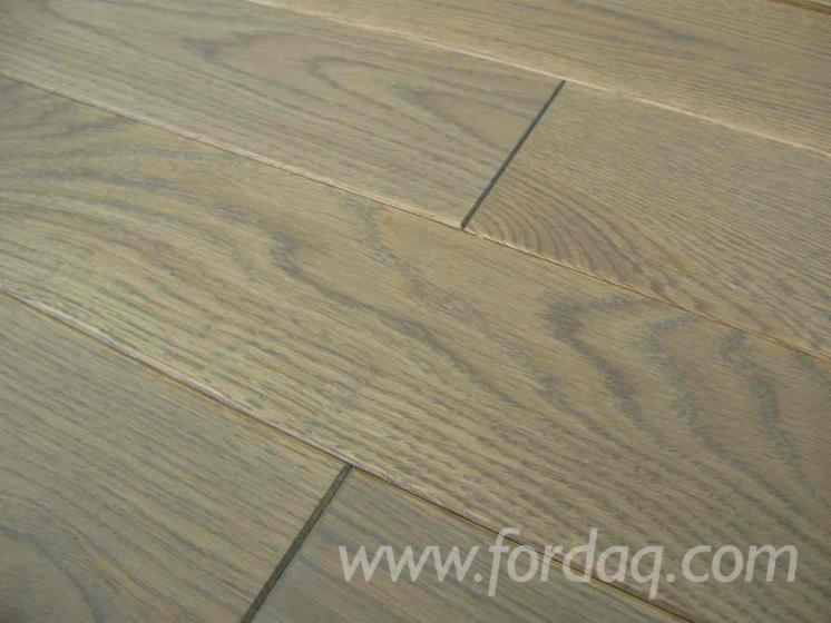Floorboard oak, solid, oiled, ANTIQUE GOTHIC 21x177x495-2495mm