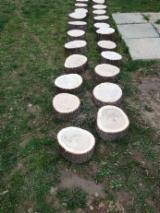 Elemente Pentru Grădină - Pavele din lemn de stejar