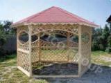 Mobilier de interior și pentru grădină - Foisor din lemn, Model FRG 4000 C