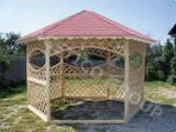Garden Products - Spruce  - Whitewood Kiosk - Gazebo from Romania
