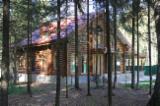 Holzhäuser - Vorgeschnittene Fachwerkbalken - Dachstuhl Zu Verkaufen - Rundholzhäuser aus sibirischen Lärche, Zirbe und Kiefer