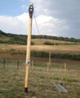Softwood  Logs - Fir  160 mm goor / buna Poles Romania