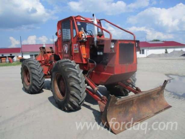 tracteur forestier neuf