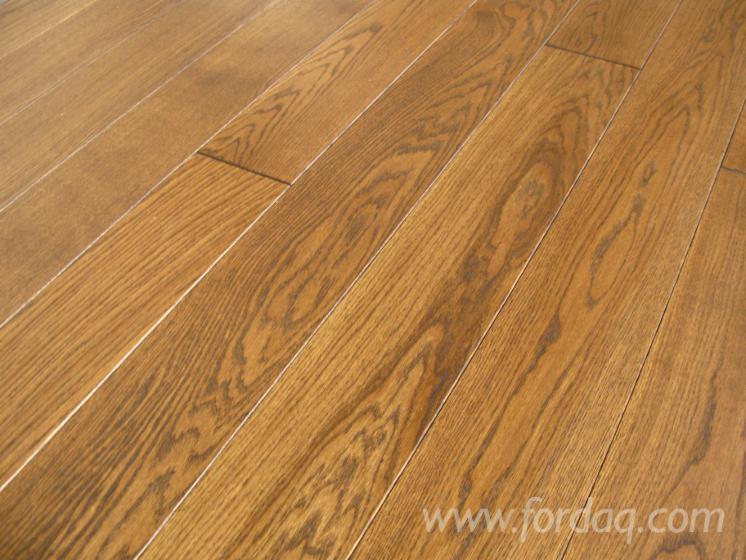 Eik fsc massief houten vloeren kopshouten parket