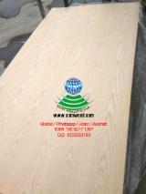 AA grade red oak veneered mdf board, red oak fancy mdf board