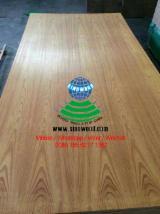 AA grade c/c yellow rosewood veneered mdf board e2