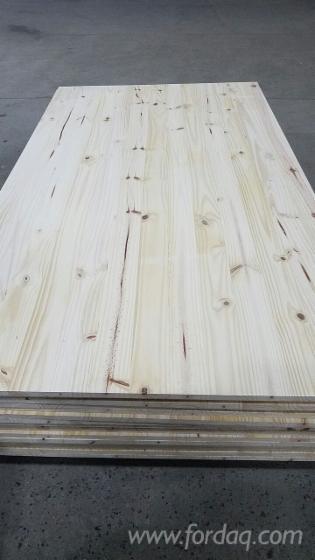 1 Schicht Massivholzplatten, Elliotiskiefer , Taeda Pine