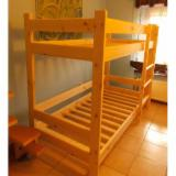 Beds Bedroom Furniture - Kit - Diy Assembly Pine (Pinus Sylvestris) - Redwood Beds in Poland