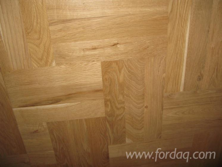 Oak T&G Parquet  22 x 70 x 420 mm