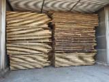 Hardwood  Unedged Timber - Flitches - Boules - Oak Loose Romania