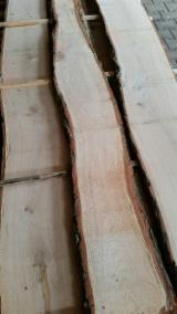Unedged Hardwood Timber - Long-term cooperation, unedged oak