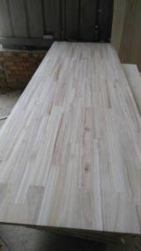 Solid Wood Panels   China - Fordaq Online market - Paulownia finger jointed board