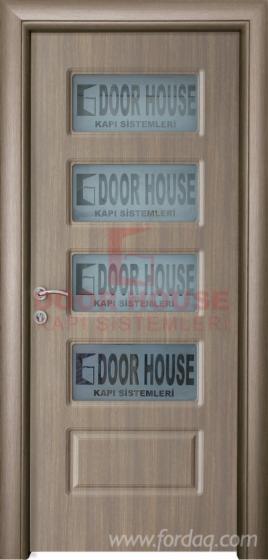 PVC, Laque, Melamine, Natural Wood Doors