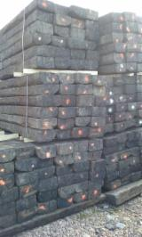Hardwood  Sawn Timber - Lumber - Planed Timber - Looking for 900 units of used railway sleepers